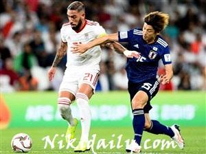 بازی فوتبال ایران ژاپن نیمه نهایی اسیا 2019