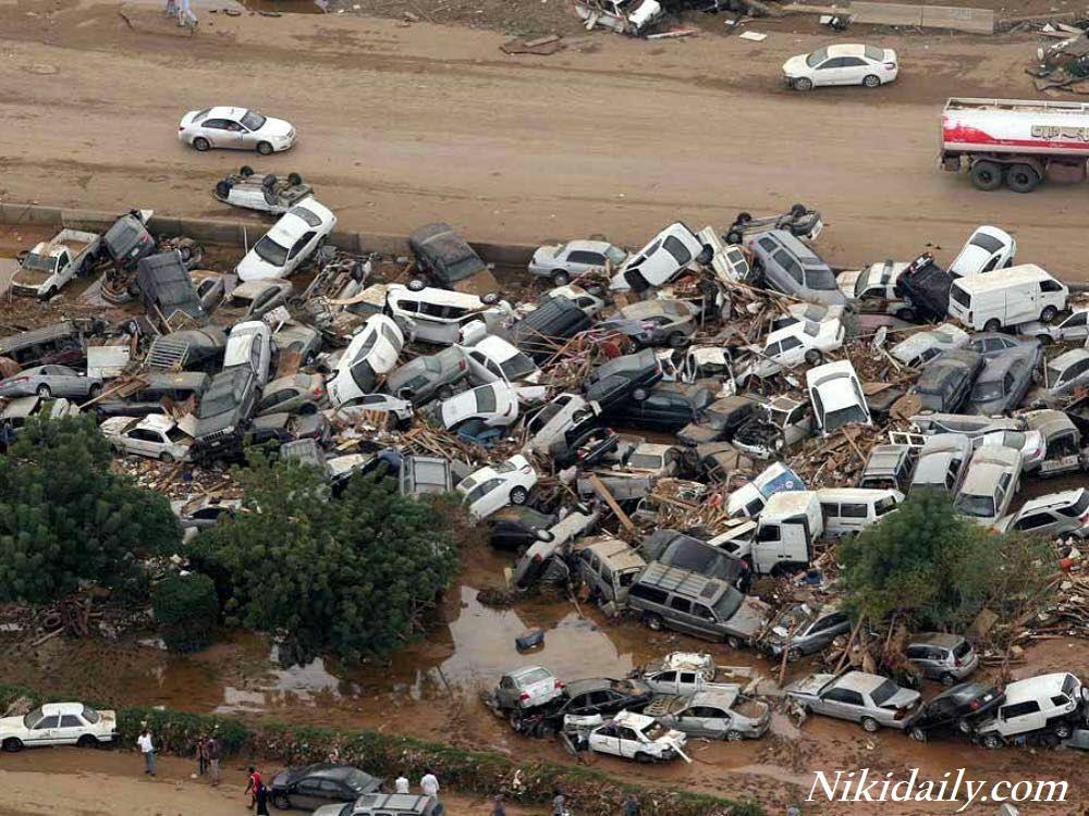 سیل در شیراز دراوزه قرآن و جنوب کشور Flood crisis in Shiraz and southern Iran