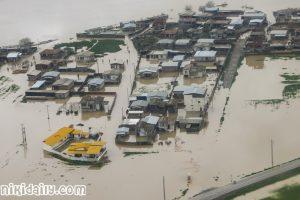 بحران سیل در گلستان مازندران و خراسان شمالی