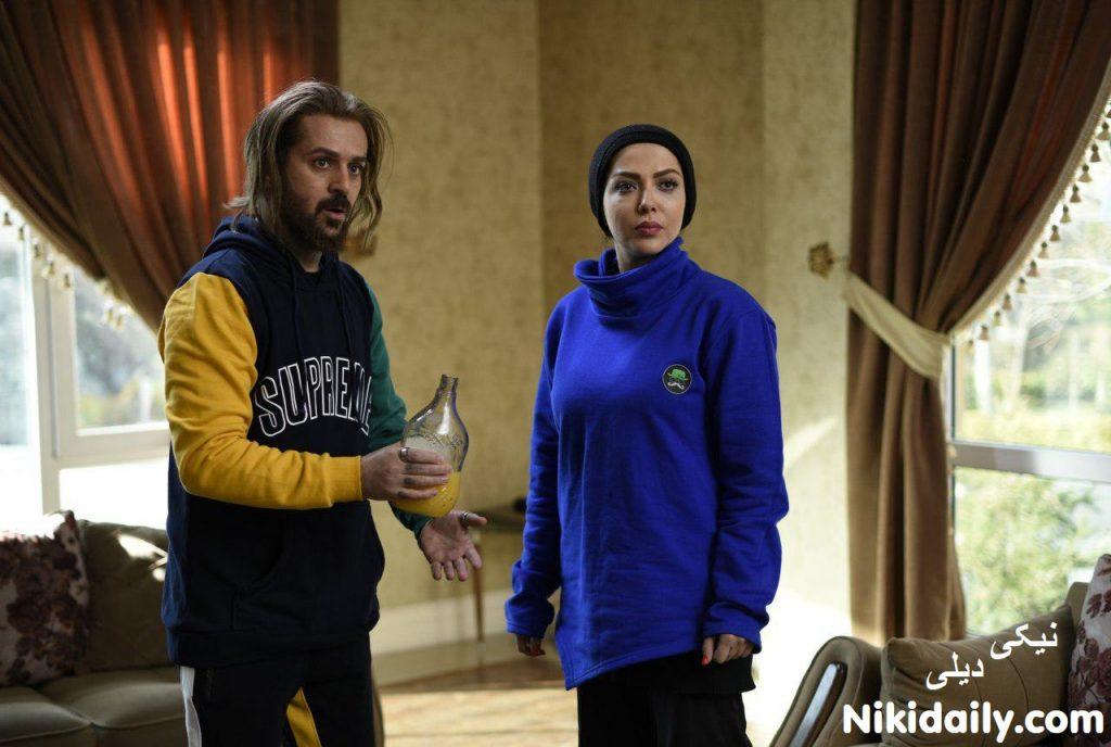 احمد مهرانفر و لیلا اوتادی در فیلم کاتیوشا