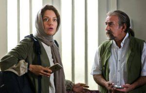 مهناز افشار و پرویز پرستویی در فیلم لس آنجلس تهران