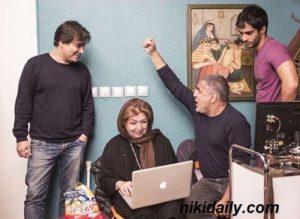 تصاویر بازیگران فیلم 50 کیلو آلبالو