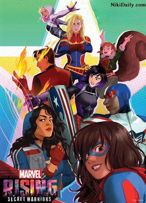 دانلود انیمیشن Marvel Rising: Secret Warriors 2018 با دوبله فارسی