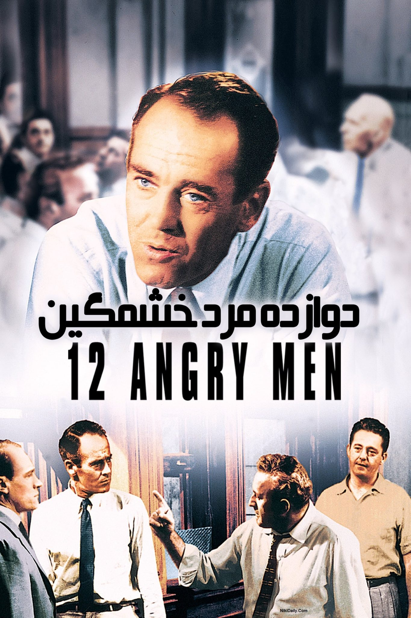 دانلود فیلم 12 Angry Men 1957 با زیرنویس فارسی