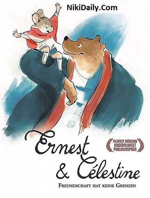 دانلود انیمیشن Ernest & Celestine 2012 با دوبله فارسی و زیرنویس فارسی