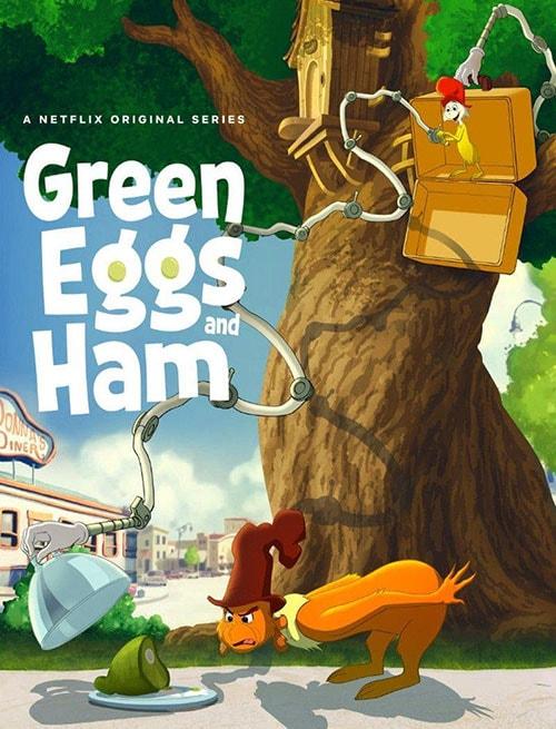 دانلود انیمیشن Green Eggs and Ham 2019 با دوبله فارسی