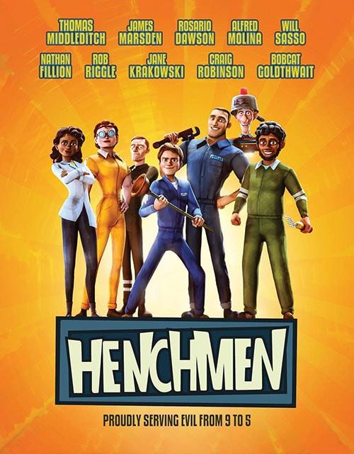 دانلود انیمیشن Henchmen 2018 با دوبله فارسی