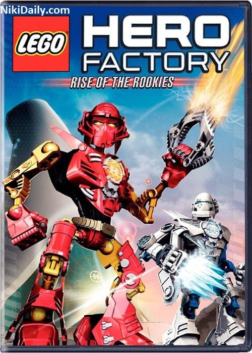 دانلود انیمیشن Lego Hero Factory 2010 با دوبله فارسی