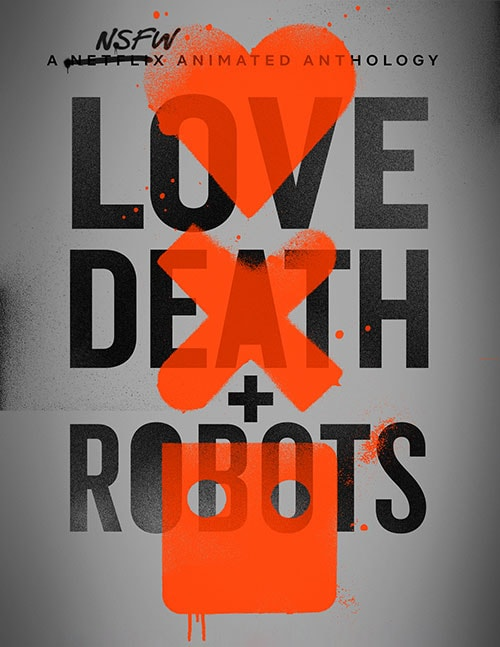 دانلود انیمیشن Love, Death & Robots 2019 با دوبله فارسی