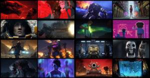 اسکرین شات انیمیشن عشق ،مرگ و ربات ها