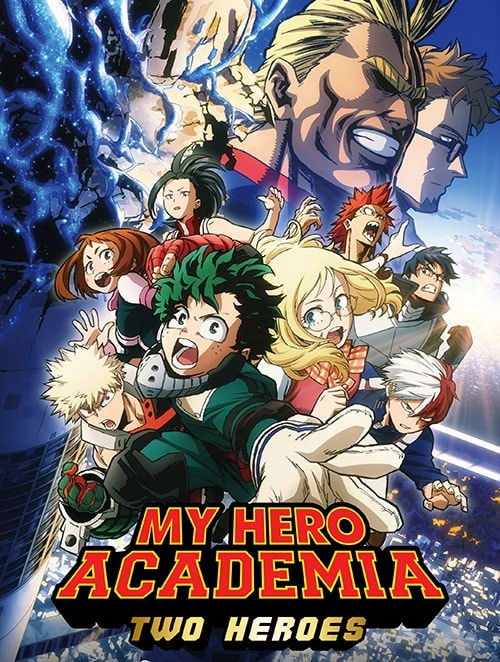 دانلود انیمیشن My Hero Academia: Two Heroes 2018 با دوبله فارسی و زیرنویس فارسی