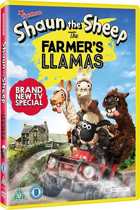 دانلود انیمیشن Shaun The Sheep: The Farmer's Llamas 2015 با دوبله فارسی