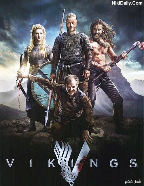 دانلود سریال Vikings Season 6 با دوبله فارسی