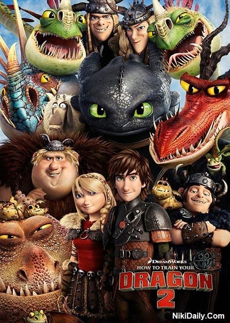 دانلود انیمیشن How to Train Your Dragon 2 2014 با دوبله فارسی و زیرنویس فارسی
