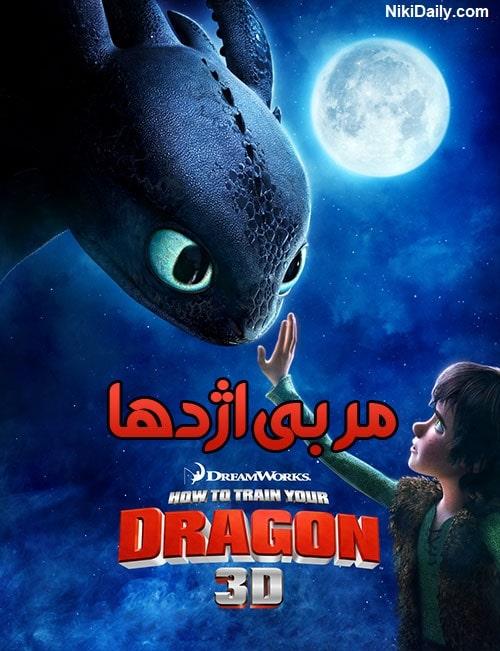 دانلود انیمیشن How to Train Your Dragon 2010 با دوبله فارسی و زیرنویس فارسی