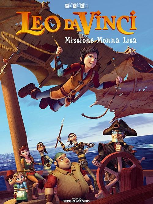 دانلود انیمیشن Leo Da Vinci: Mission Mona Lisa 2018