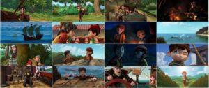 اسکرین شات انیمیشن لئو دا وینچی: ماموریت مونا لیزا
