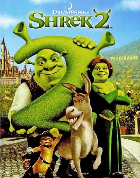دانلود انیمیشن Shrek 2 2004 با دوبله فارسی و زیرنویس فارسی