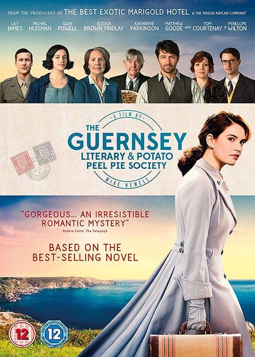 دانلود فیلم The Guernsey Literary and Potato Peel Pie Society 2018 با دوبله فارسی و زیرنویس فارسی