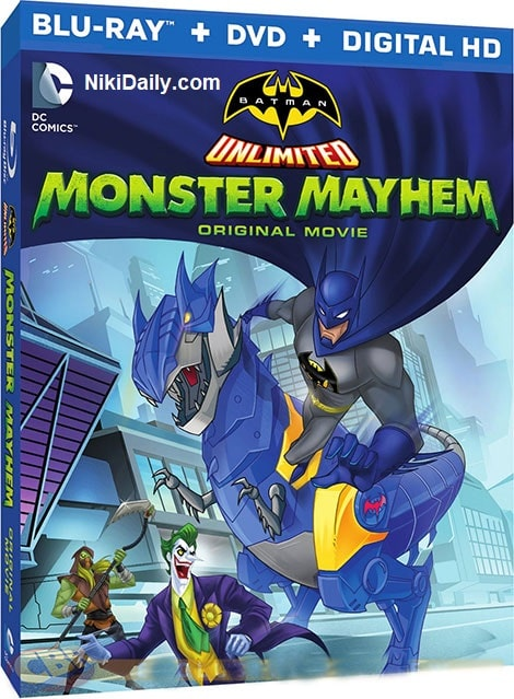 دانلود انیمیشن Batman Unlimited: Monster Mayhem 2015 با دوبله فارسی و زیرنویس فارسی
