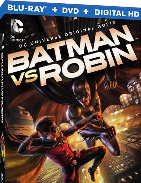 دانلود انیمیشن Batman vs Robin 2015 با دوبله فارسی و زیرنویس فارسی