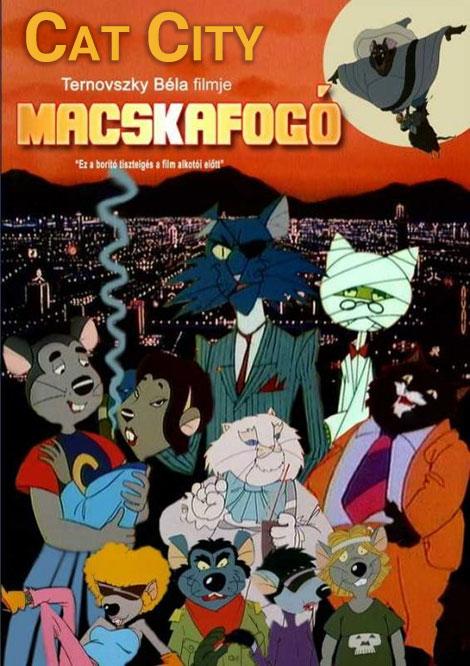دانلود انیمیشن شهر گربه ها Cat City 1986 با دوبله فارسی