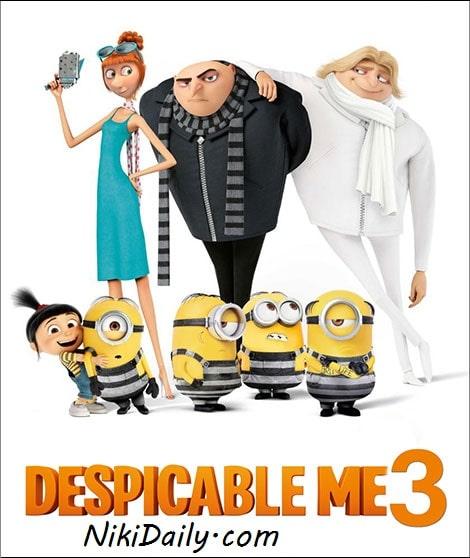دانلود انیمیشن من نفرت انگیز 3 Despicable Me 3 2017 با دوبله فارسی و زیرنویس فارسی