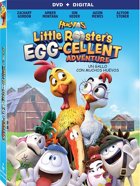 دانلود انیمیشن جوجه خروس ابرقهرمان Huevos: Little Rooster's Egg-cellent Adventure 2015 با دوبله فارسی