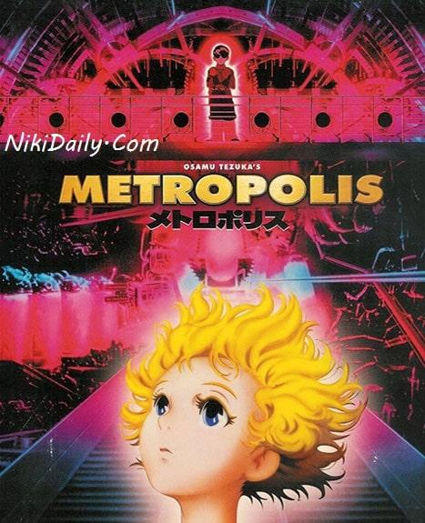 دانلود انیمیشن متروپلیس Metropolis 2001 با دوبله فارسی و زیرنویس فارسی