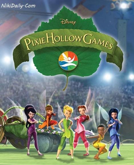 دانلود انیمیشن مسابقات پیکسی هالو Pixie Hollow Games 2011 با دوبله فارسی و زیرنویس فارسی