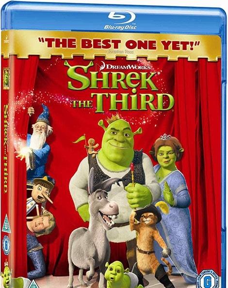 دانلود انیمیشن Shrek 3 2007 با دوبله فارسی و زیرنویس فارسی