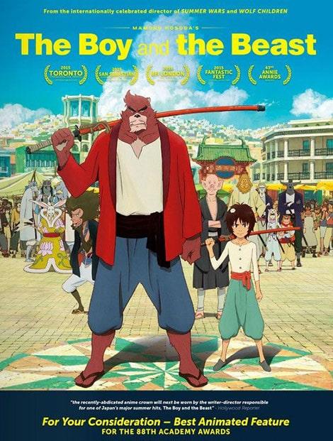 دانلود انیمیشن The Boy and the Beast 2015 با دوبله فارسی و زیرنویس فارسی