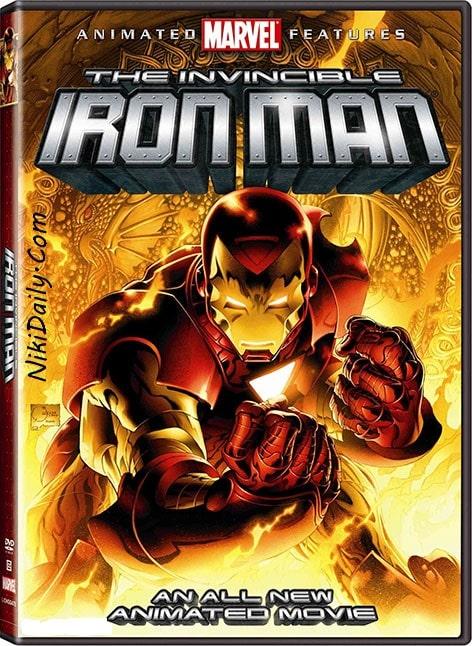 دانلود انیمیشن مرد آهنی شکست ناپذیر The Invincible Iron Man 2007 با دوبله فارسی و زیرنویس فارسی