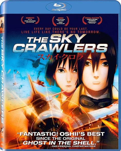 دانلود انیمیشن جنگجویان آسمان The Sky Crawlers 2008 با دوبله فارسی و زیرنویس فارسی