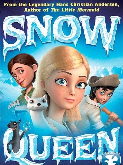 دانلود انیمیشن ملکه برفی The Snow Queen 2012 با دوبله فارسی و زیرنویس فارسی