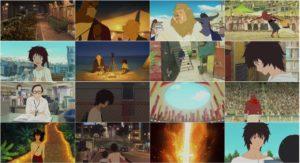 اسکرین شات فیلم پسر بچه و هیولا