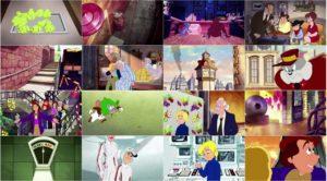 اسکرین شات انیمیشن تام و جری در کارخانه شکلات سازی ویلی وانکا