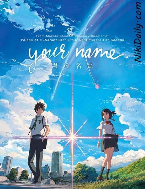 دانلود انیمیشن Your Name نام شما 2016 با زیرنویس فارسی