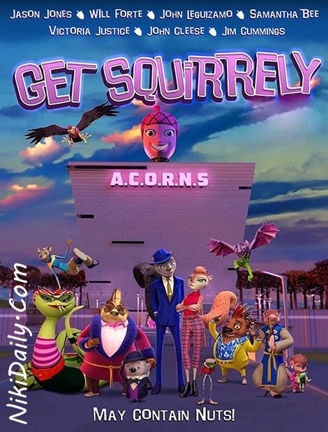 دانلود انیمیشن ماموریت سنجابی Get Squirrely 2015 با دوبله فارسی