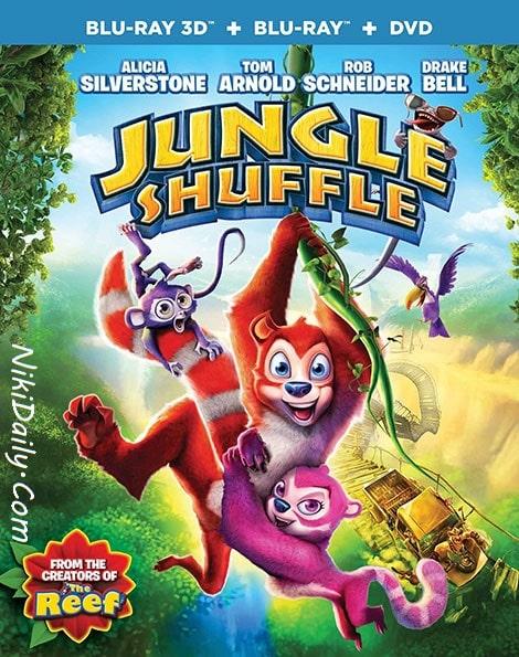دانلود انیمیشن آشوب در جنگل Jungle Shuffle 2014 با دوبله فارسی
