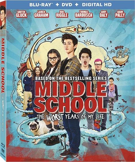 دانلود فیلم مدرسه راهنمایی: بدترین سالهای زندگی ام Middle School: The Worst Years of My Life 2016