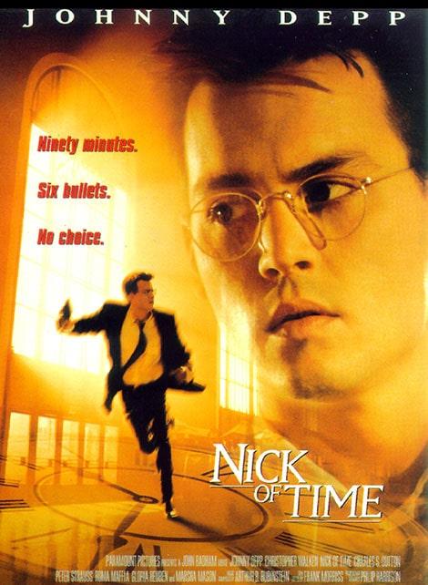 دانلود فیلم وقت هیجان Nick of Time 1995 با دوبله فارسی و زیرنویس فارسی
