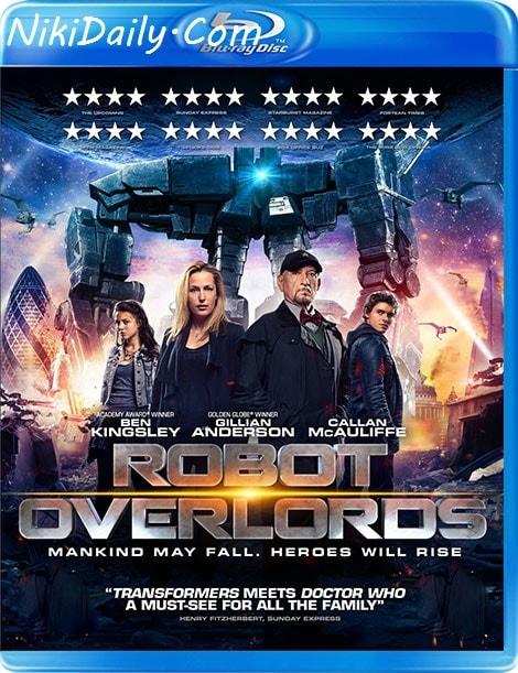 دانلود فیلم اربابان آهنین Robot Overlords 2014 با دوبله فارسی و زیرنویس فارسی