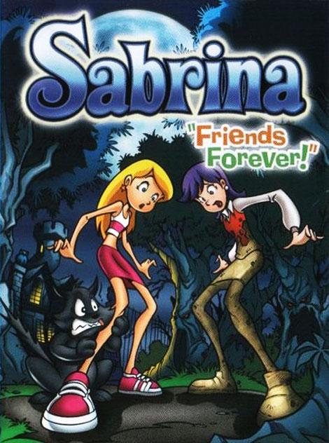 دانلود انیمیشن سابرینا جادوگر نوجوان Sabrina the Teenage Witch in Friends Forever 2002 با دوبله فارسی