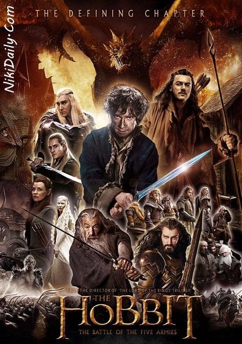 دانلود فیلم هابیت: نبرد پنج سپاه The Hobbit: The Battle of the Five Armies 2014 با دوبله فارسی و زیرنویس فارسی
