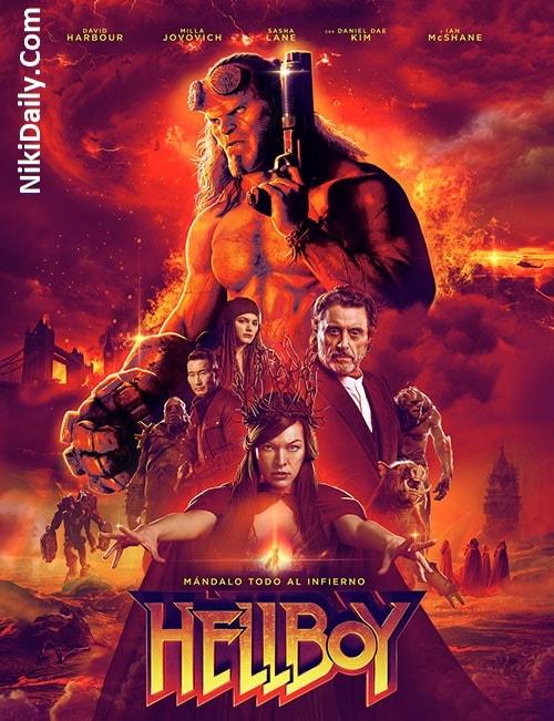 دانلود فیلم پسر جهنمی ۳ Hellboy 2019 با دوبله فارسی و زیرنویس فارسی