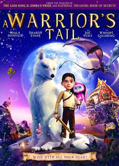 دانلود انیمیشن داستان یک جنگجو A Warrior's Tail 2015 با دوبله فارسی