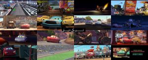 اسکرین شات انیمیشن ماشین ها