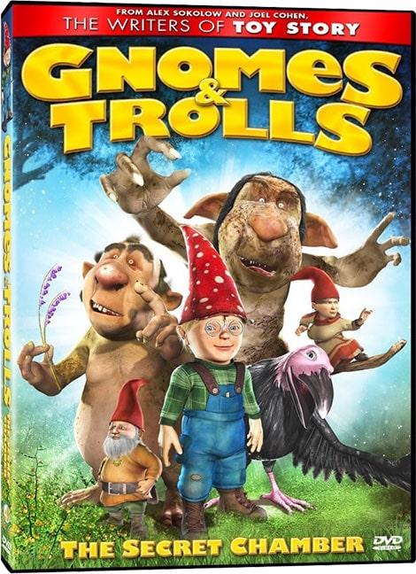 دانلود انیمیشن کوتوله ها و ترول ها: راز تالار Gnomes & Trolls: The Secret Chamber 2008 با دوبله فارسی