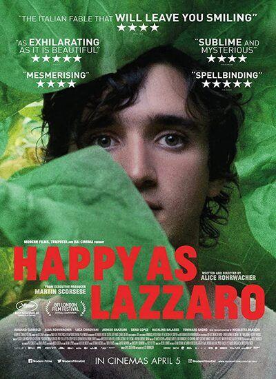 دانلود فیلم Happy as Lazzaro لازاروی خوشحال 2018 با زیرنویس فارسی